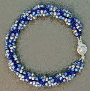 Simple Seed Bead Bracelet | AllFreeJewelryMaking.com