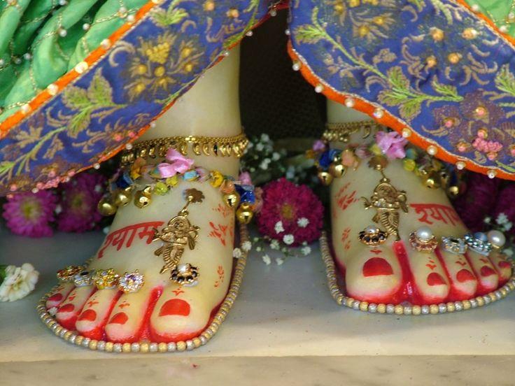 Srimat Radharani's Lotus Feet