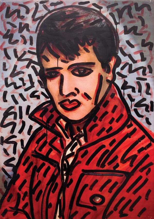 Elvis by Keith Haring
