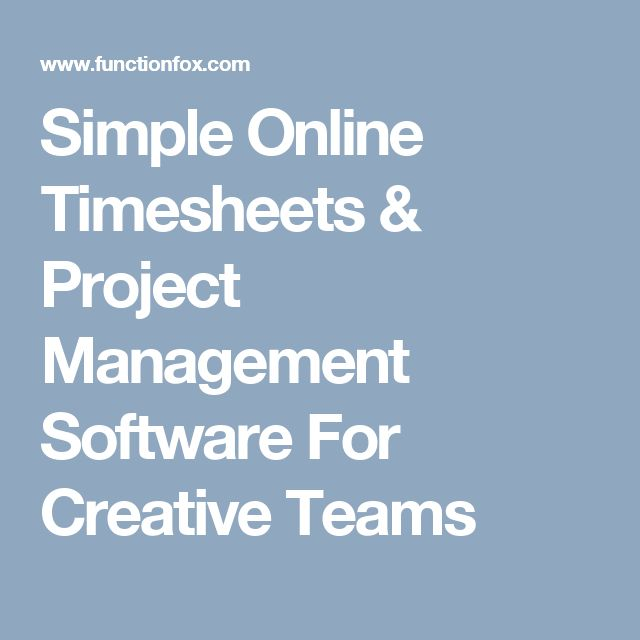 Best  Online Timesheet Ideas On   Timesheet Software