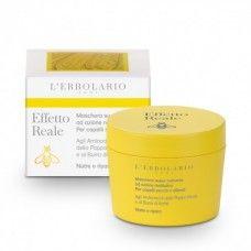 Effetto Reale Szupertápláló Hajpakolás hajszerkezet helyreállító hatással - Rendeld meg online! Lerbolario Naturkozmetikumok http://lerbolario-naturkozmetikumok.hu/kategoriak/hajapolas/effetto-reale