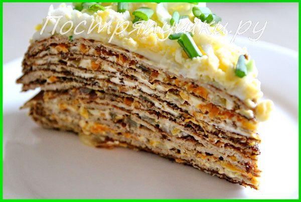 Приготовим печеночный торт немного по-другому, вернее основа стандартная, а вот начинка оригинальная: колбасный сыр, пикантный кремовый вкус которого прекрасно сочетается со вкусом печени. Нежный вк…