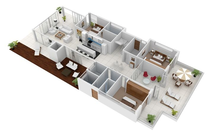 3d gallery artist impressions 3d architectural for Floor plans for real estate marketing