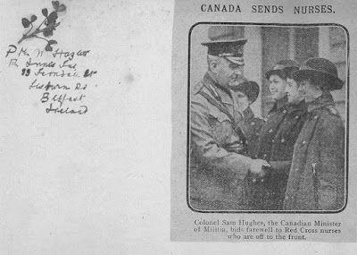 Olive Tree Genealogy Blog: Nursing Sister Phillips WW1 Album: 24R Newspaper C...