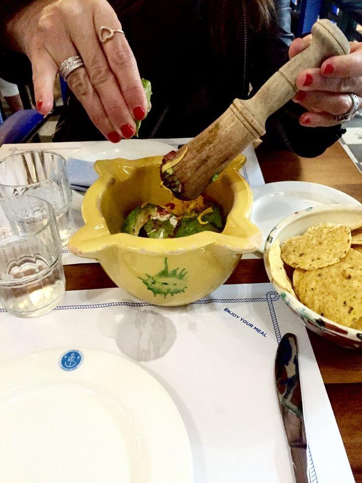 Blanda din egen guacamole på Patrón Lunares <3