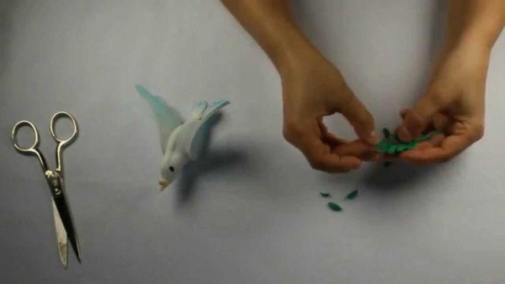 Como hacer una paloma en goma eva para fofuchas videos - Cosas de goma eva ...