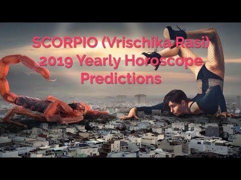 Scorpio Moon Sign (Vrischik Rasi) 2019 Horoscope Predictions