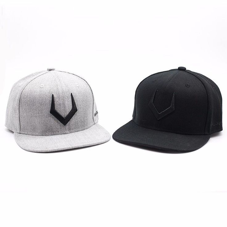 High quality grey wool snapback 3D pierced embroidery, baseball cap for men #BaseballCap