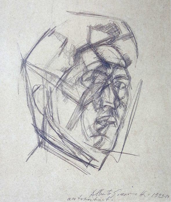 giacomettiselfportrait