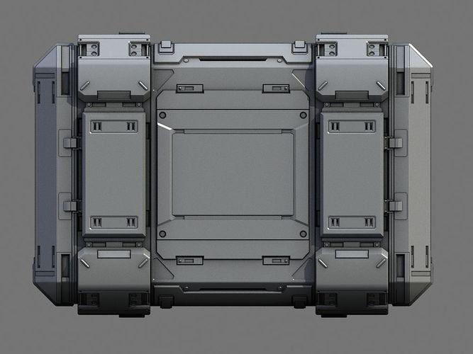 sci-fi containers 3d model max obj mtl fbx 8 | SIFI Cases