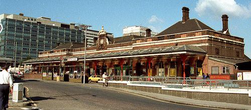 The old East Croydon Station