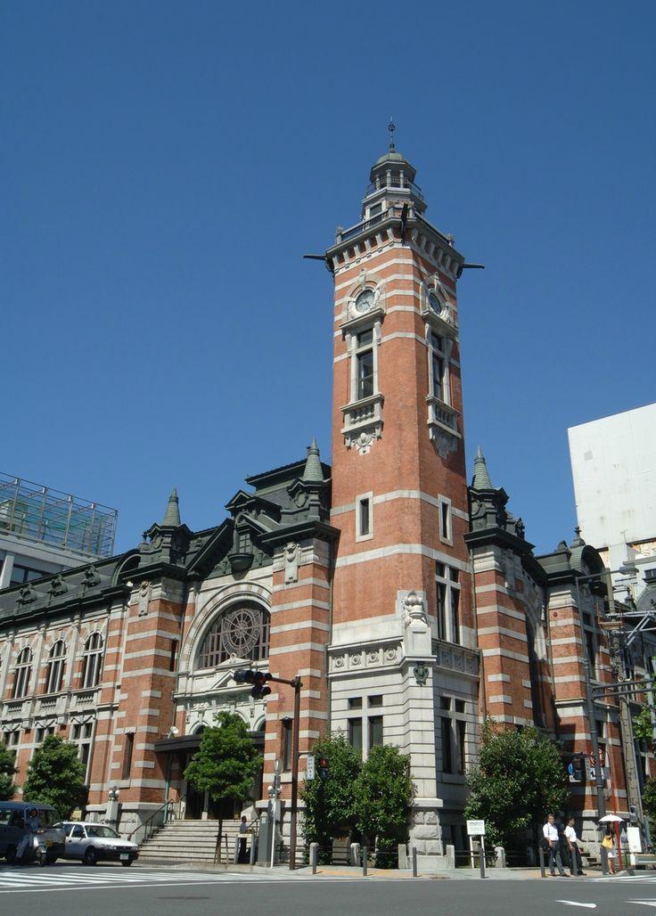 ジャック(横浜市開港記念会館) みなとみらい 横浜 建築 観光 横浜三塔