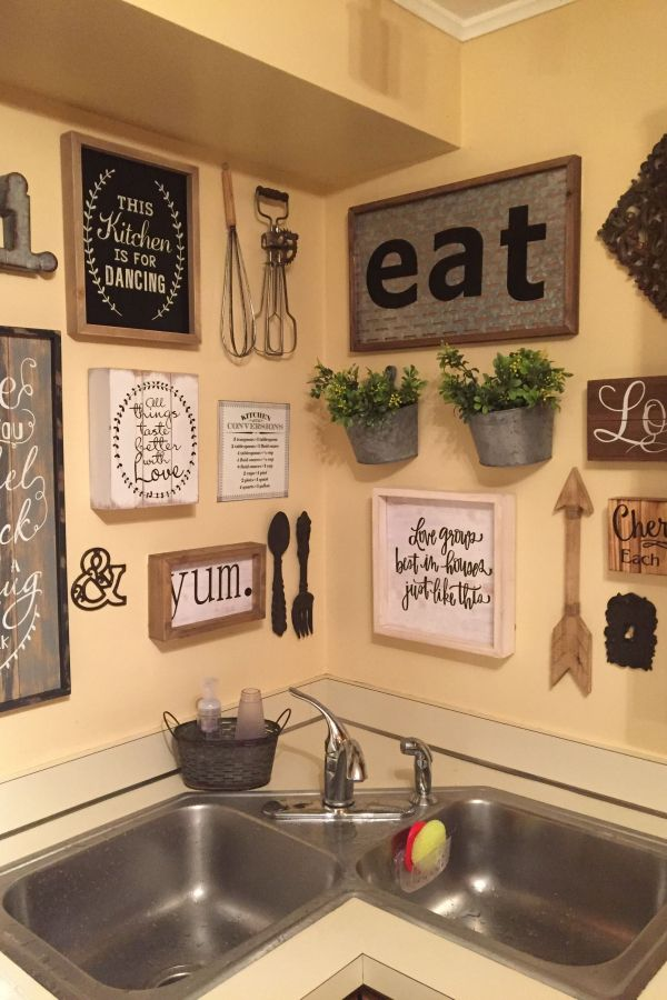 New Large Kitchen Wall Decor Ideas Picture Country Kitchen Wall