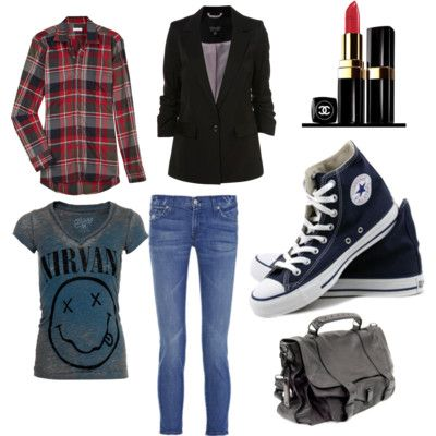 Outfits Rockeros Mujer