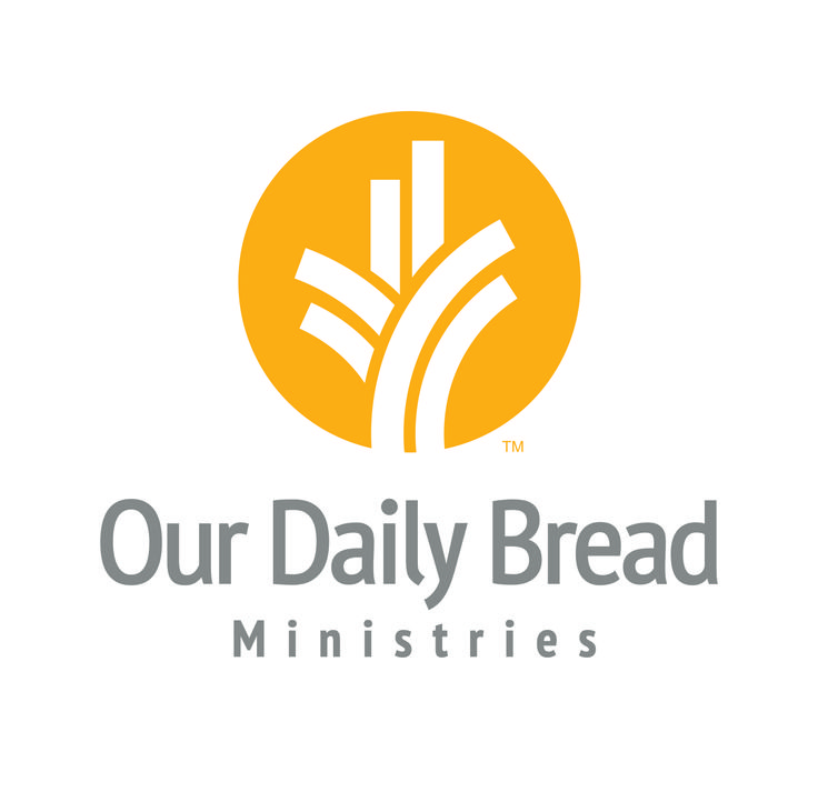 Our Daily Bread Ministries logo created by Extra Credit Projects