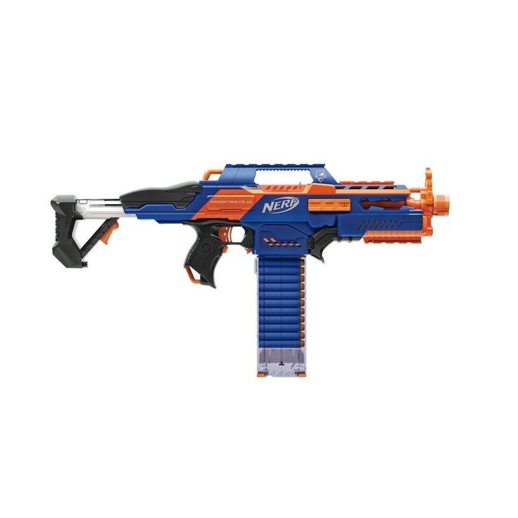 90 Feet NERF Elite XD Rapidstrike CS-18 Dart Gun  Sniper Blaster Toys Brand New