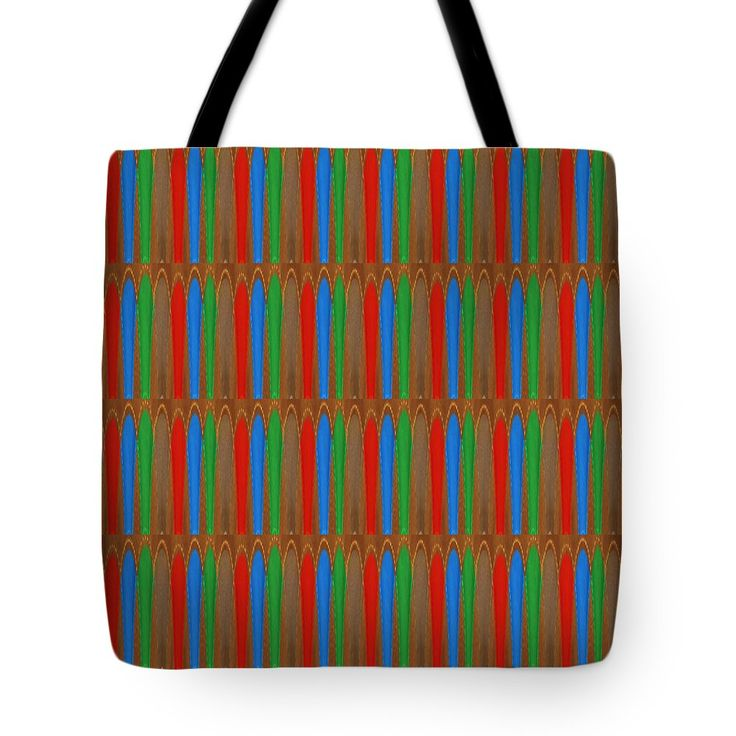 """Energy filled colorful cool kool design pattern signature art design textures and color combinations Tote Bag by NAVIN JOSHI (18"""" x 18"""").  The tote bag is machine washable, available in three different sizes, and includes a black strap for easy carrying on your shoulder.  All totes are available for worldwide shipping and include a money-back guarantee."""