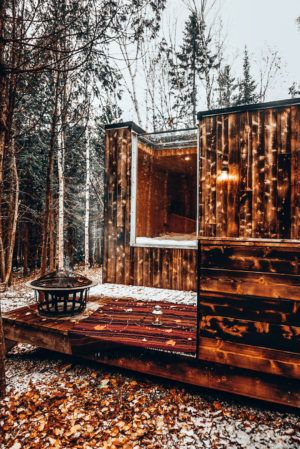 Repere Boreal Micro Cabin Located In The Heart Of Charlevoix
