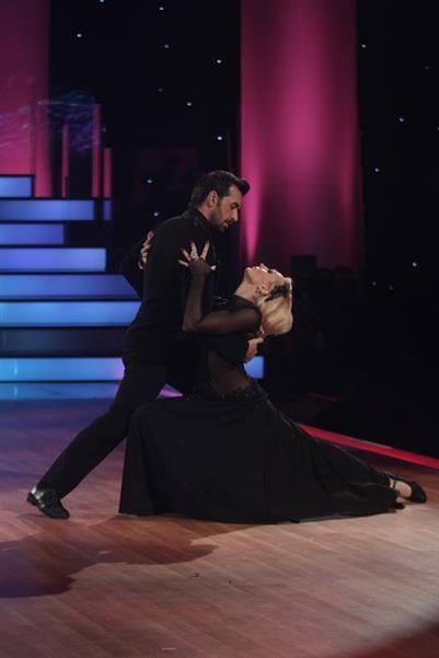 European tango with dark dancewear  #dancewear