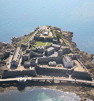 13th century Castle Cornet, St Peter Port, Guernsey, Channel Islands