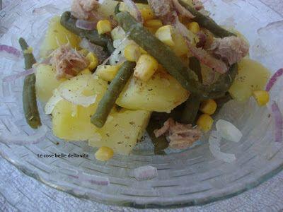 Le Cose Belle della Vita: Insalata di patate,fagiolini,tonno e cipolla di Tropea