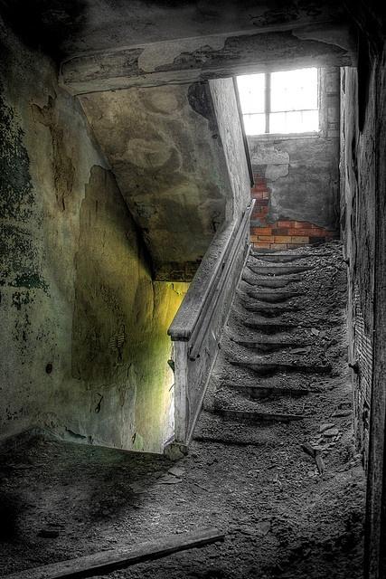 I'd try to walk in this place to see if I'd fall through the floor.