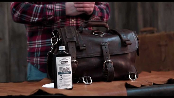 Water Protectant No. 3 is a blend of natural oils and waxes formulated to condition and protect your leather items. In this video, a demonstration of how to apply Water Protectant No. 3 to a Saddleback Leather briefcase in order to waterproof the leather.
