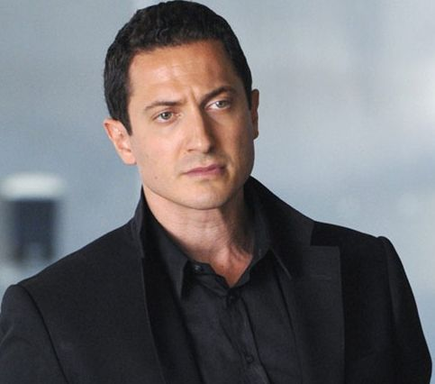 Sasha Roiz. Grimm has just started up again.  I have developed such a huge crush on him.  Classical good looks.  Making Renard such an interesting and complex character.