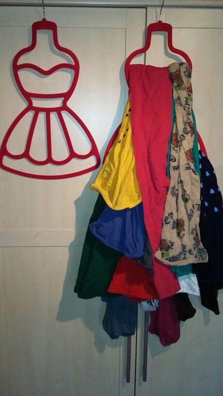 Organizing 15 Pantyhoses