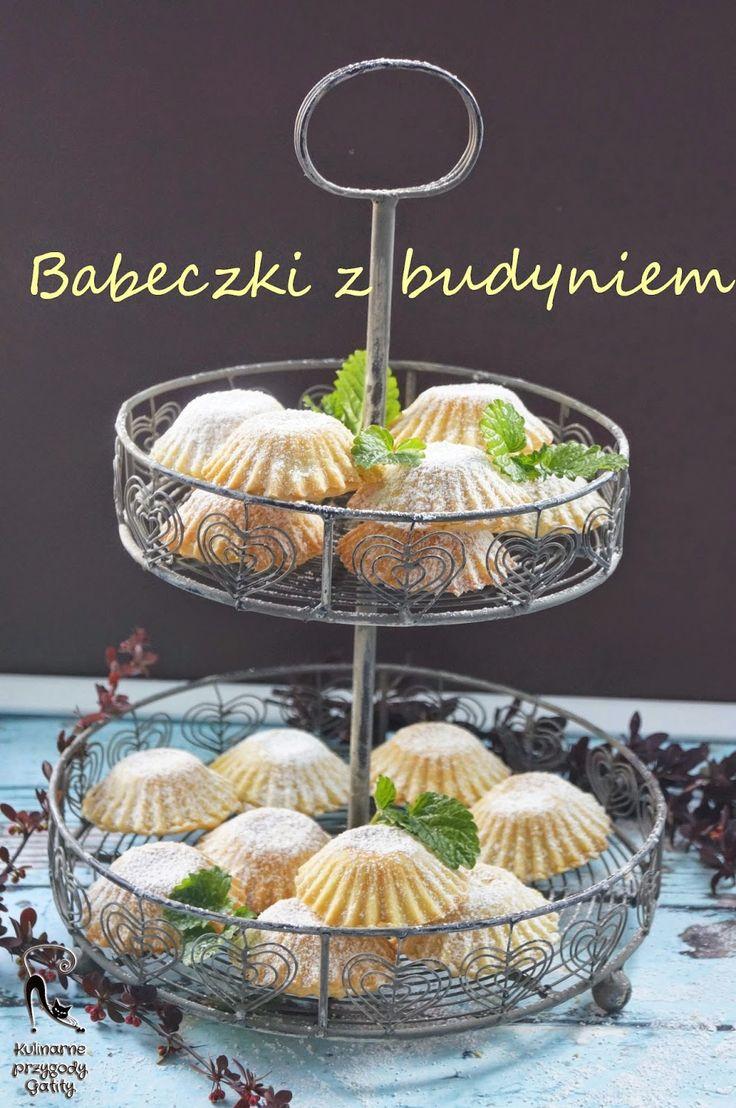 Kulinarne przygody Gatity: Babeczki  z budyniem waniliowym