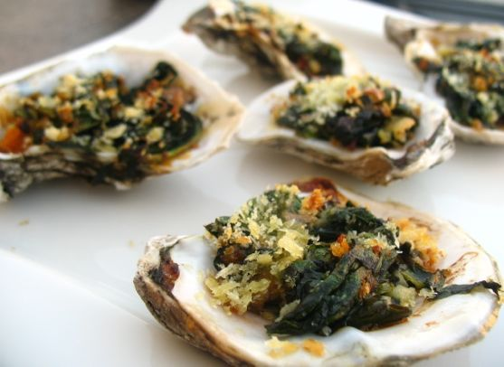 Baked Oysters | Delish | Pinterest