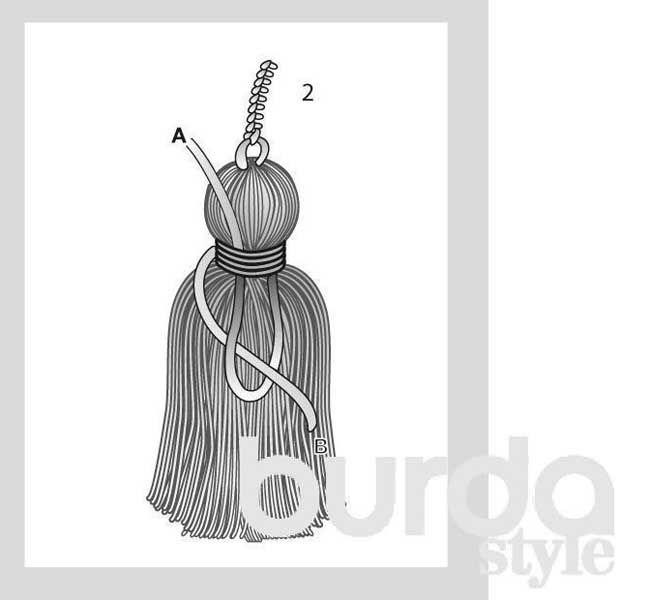 Как украсить вязаное изделие - схема вязания спицами. Вяжем Техника вязания на Verena.ru