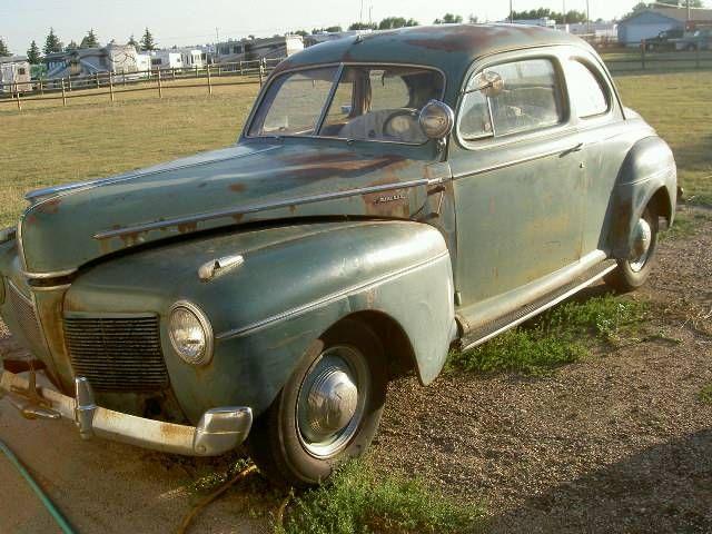 1941 mercury 2 door coupe barn find 1940s american for 1946 mercury 4 door sedan