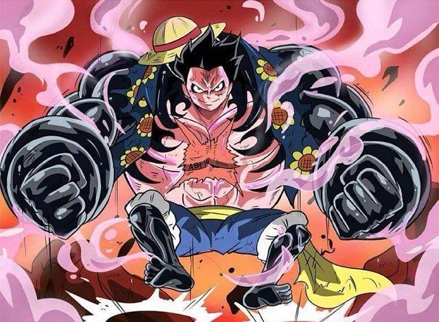 Luffy gear 4 | Manga celebre, One pièce manga, Image stylé