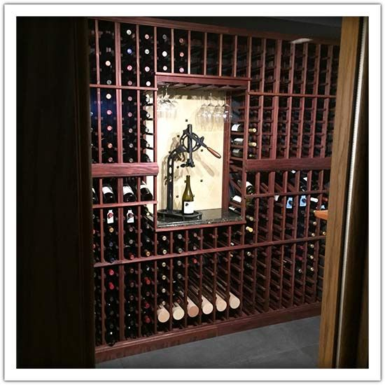 The topic of the day: Functional And Elegant Vintner Wine Cellar - Come in and tell us what you think!