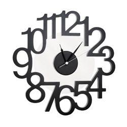 Rondo Wall Clock Black