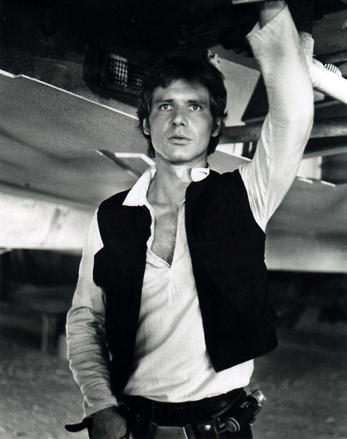 Han Solo, Captian of the Millennium Falcon and who's career will not be affected by this movie.