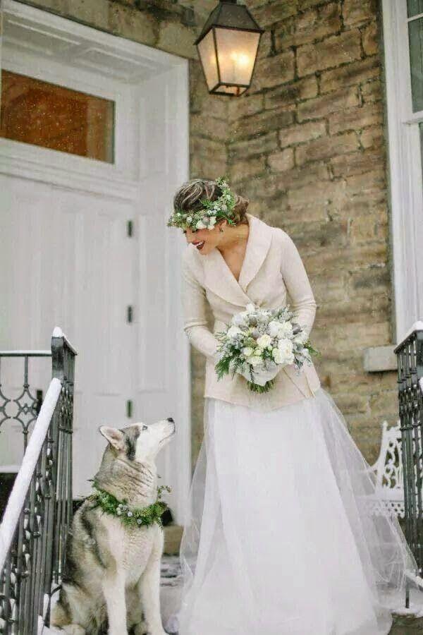 Свадьба зимой.