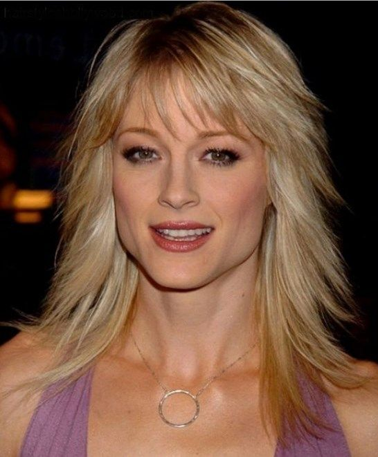 Long Hairstyles : Popular Long Choppy Hairstyles With Bangs For Straight Thin Hair In Light Blonde Color Long Choppy Hairstyles for Modern Women 2016 Choppy Haircuts For Fine Hair. Choppy Hairstyles For Round Faces. Long Choppy With Fringe.