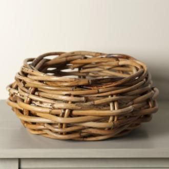 Add #character to a #modern colour scheme of #neutrals and clay with this sturdy Woolsey #Rattan Bowl. Perfect for storing firewood, it would also make a delightful center piece underneath one of our gorgeous pendant lights in the new season #clay #paint finish.