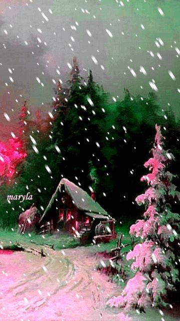 Download Animated 360x640 Winter Nature Cell Phone Wallpaper Category