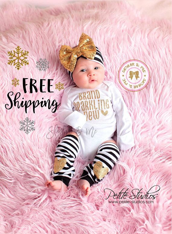 Brand Sparkling New Newborn Outfit Take Home Outfit baby girl gift newborn gift Baby shower gift Coming Home Outfit baby girl outfit