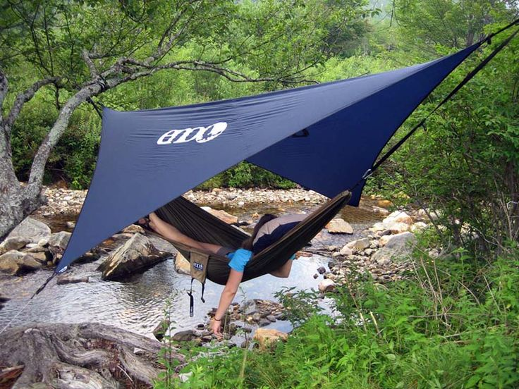 Covered ENO hammock! Officially saving up for one of these!