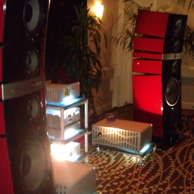 Focal speakers and Boulder Audio electronics