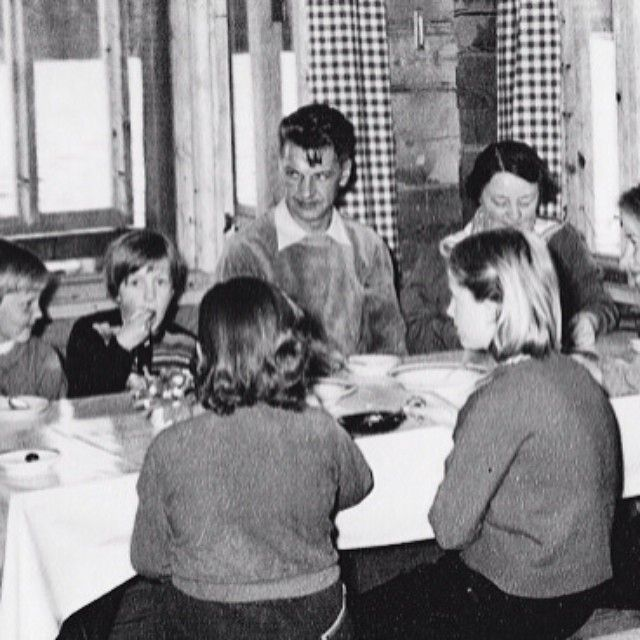Inspiration behind our SS14 cotton collection: our father/grandfather in a velour sweatshirt in the 50s #familybusiness #tbt | 27.3.2014