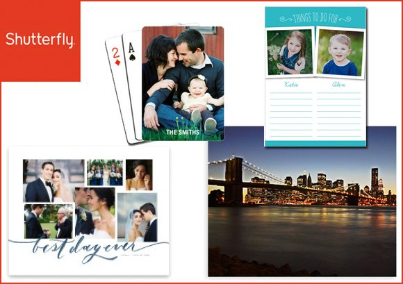 Shutterfly: FREE Print, Playing Cards, or Note Pade - Just Pay Shipping - http://www.swaggrabber.com/?p=282335