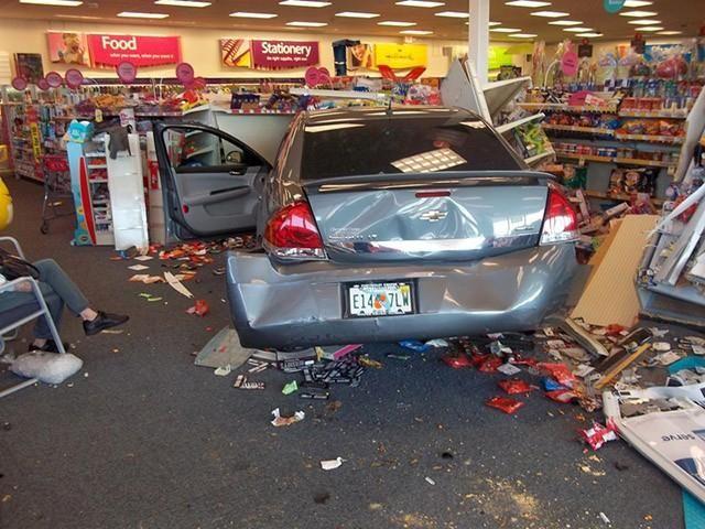 Watch: Woman crashes car into CVS store - New York News  http://www.ajlounyinjurylaw.com