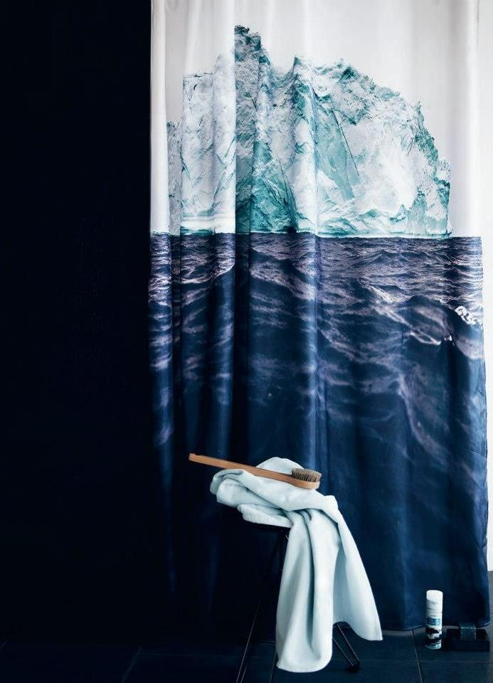 shower curtain. by bynord.