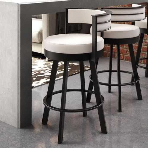 Found it at Wayfair - Matthews 26.13  Swivel Bar Stool & 25+ best Swivel bar stools ideas on Pinterest | Leather swivel bar ... islam-shia.org
