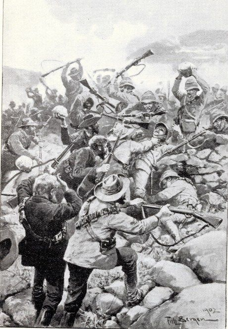 Skirmish at Stinkfontein